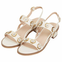 HONEYMOON FLOWER SANDALS