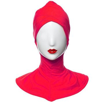 Under Scarf Cap Bonnet Hijab Islamic Headwear Neck Chest Cover = 1957942020