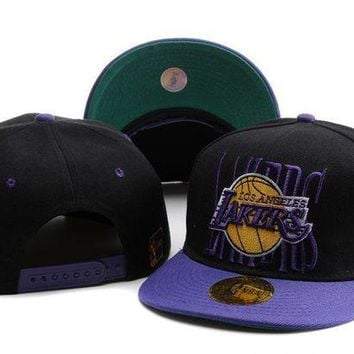 DCCKUN7 Los Angeles Lakers Cap Snapback Hat - Ready Stock
