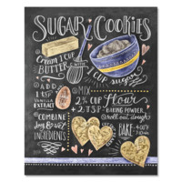 Sugar Cookies Recipe - Print & Canvas