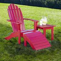 Pompeian Red Adirondack Collection | Outdoor and Patio Furniture| Furniture | World Market