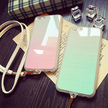 Cute Grid iPhone 5s 6 6s Plus creative case Samsung Gift-96