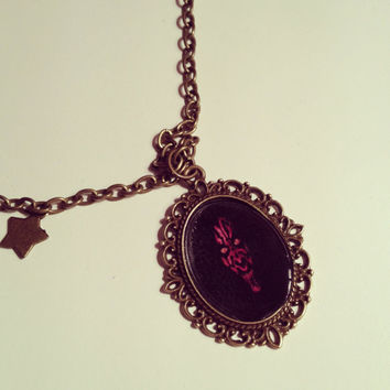 Star Wars Darth Maul Cameo Necklace by RabbitJewellery on Etsy