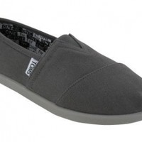 Toms Kids Classic Canvas Ash Slip on Youth 012001c10