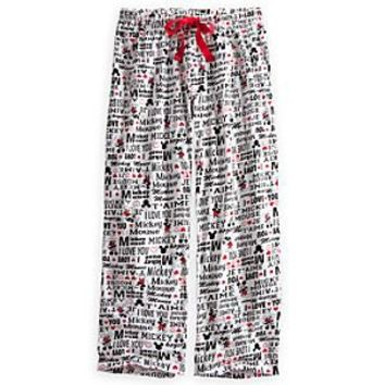 Mickey Mouse Lounge Pants for Women | Disney Store