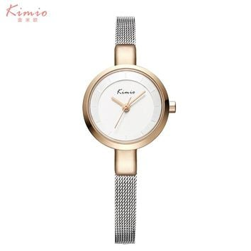 2017 Luxury Brand Watch Women Bracelet Elegant Stainless Steel Wristwatch Round Friendship Relogio Feminino Quartz-watch Female