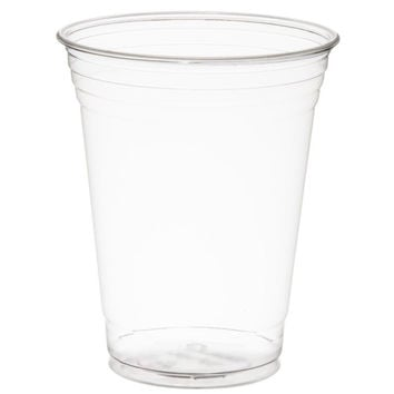 Nafger sales Plastic Cups with Flat Lids for Iced Coffee Bubble Boba Tea Smoo...