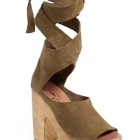 Free People 'Touch the Sky' Wrap Platform Clog Sandal (Women) | Nordstrom