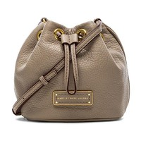 Marc by Marc Jacobs Too Hot to Handle Mini Drawstring Bag in Gray