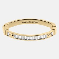 Michael Kors 'Brilliance - Astor' Baguette Hinged Bangle | Nordstrom