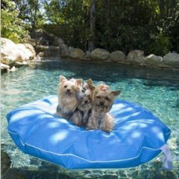 """Pet Pool and Deck Lounger Pool Blue (MD 39"""")"""