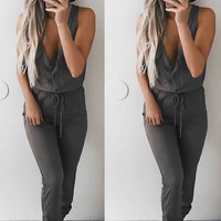 Army Olive Jumpsuit - FINAL SALE