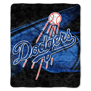 DODGERS  50x60 Sherpa Throw