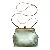 Buy Mimi Berry Gracie Leather Frame Purse online at John Lewis