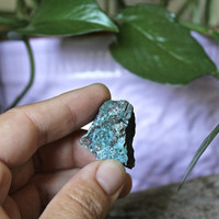Raw Chrysocolla Stone Specimen, Reiki Healing Crystal, Natural Witchcraft Supplies, Metaphysical, Occult, Pagan Shopping Wiccan Online Store