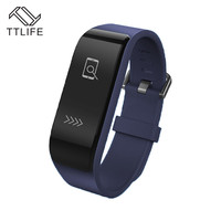 TTLIFE Fitness Tracker Smart Wristband Silent Alarm Clock Smart Bracelets For Tablet Android pk mi band 2