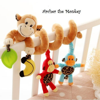 Mobile Baby Crib Toy - Archer the Monkey & Brave the Star