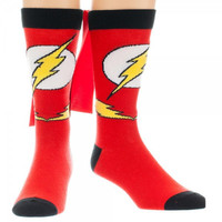 The Flash Crew Socks With Capes