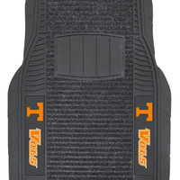 Tennessee Volunteers Car Mats - Deluxe Set