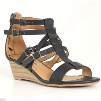 City Classified Lativ Demi Wedges in Black LATIV-BLK