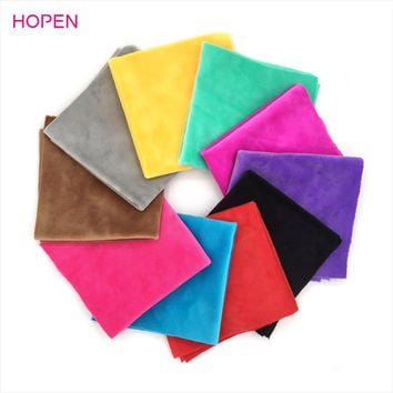 High Quality Cheap Plush Fabric Patchwork For Sewing Scrapbooking Fat Quarters Tissue Quilt Pattern Needlework Scraps 25cmx25cm
