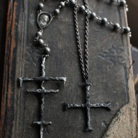 White Witches Rosary