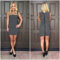 Seeing Stripes Mini Dress