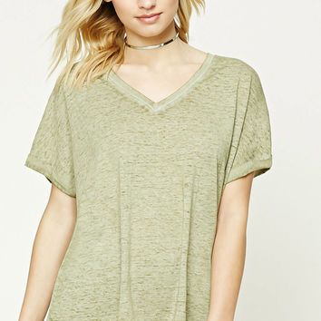 Contemporary Slub Knit Tee