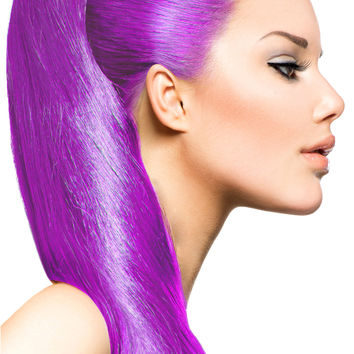Exotic Flare- Violet Curly