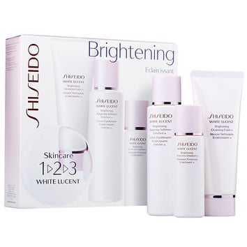 Shiseido White Lucent Skincare 1-2-3 Brightening Kit