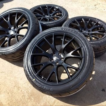 "20"" Dodge Charger Challenger HELL CAT 2017 2018 OEM wheels rims tires 2015 2016"