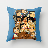 Place of princes Throw Pillow by Little People