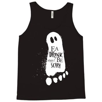 eat drink and be scary Tank Top