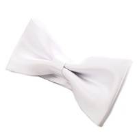 Tok Tok Designs Baby Bow Tie for 14 Months or Up (BK5, White)