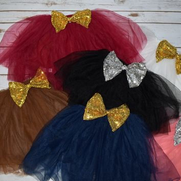 Tutu with Sequin Bow