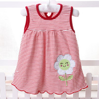 Baby Dress  2017 baby girls dress Princess 0-2years Girls Dress Cotton Clothing Dress Summer Girls Clothes