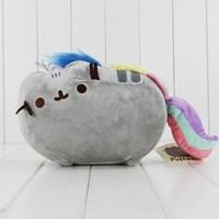 2Size Pusheen Cat Cos Unicorn Cushion Plush Animal