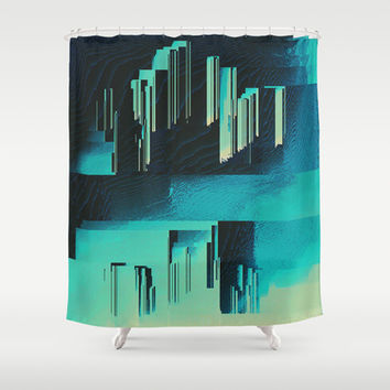Underwater City Shower Curtain by DuckyB (Brandi)