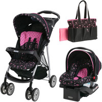 Baby, Infant Stroller Travel System and Diaper Bag Baby Bundle Set - Priscilla