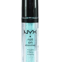 NYX - Roll On Eye Shimmer - Sea Foam - RES08