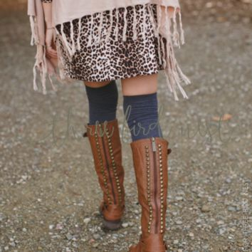 Trooper Studded Boots