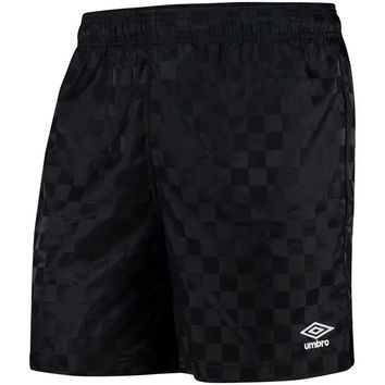 Umbro Black Checkerboard Shorts