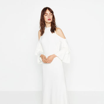 STUDIO OFF - THE-SHOULDER DRESS-View All-DRESSES-WOMAN | ZARA United Kingdom