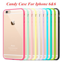 TPU Clear Case Transparent Back Phone Shell for iPhone 6 Plus 6s Plus