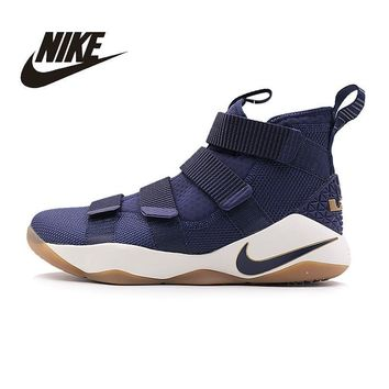 NIKE Original New Arrival Mens LEBRON SOLDIER XI EP Basketball Shoes Breathable High Q