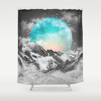 It Seemed To Chase the Darkness Away (Guardian Moon) Shower Curtain by soaring anchor designs ⚓ | Society6
