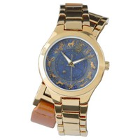 Celestial zodiac sun moon constellation stars watch
