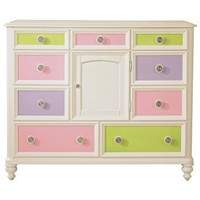 Build-A-Bear Pawsitively Yours 9-Drawer Dresser - Dressers at Hayneedle