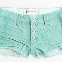 Bullhead Exposed Button Color Shorts - PacSun.com