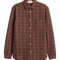 Flannel Shirt Regular fit - from H&M